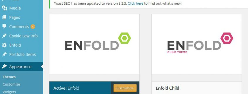 wordpress theme updates and support