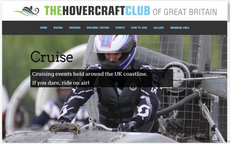 Hovercraft Club of Great Britain home page